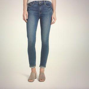Paige Hoxton High Waist Skinny Jeans, like new
